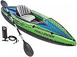 Intex Challenger K1 Kayak w/ Oar & Pump $36 + Free Shipping