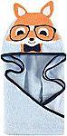 "Hudson Baby Animal 33""x33"" Hooded Towel (Nerdy Fox) $4.67"
