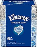 12-Boxes Kleenex Trusted Care Everyday Facial Tissues (144/Box) $11 or Less