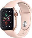 Apple Watch Series 5 (GPS + Cellular, 40mm) - Gold Aluminum $390.87