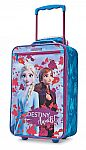 "Kohl's Cardholders: American Tourister Disney's Frozen 2 Kids' Luggage: 18"" Softside $22.40 and more"