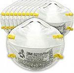 10-ct 3M N95 Particulate Respirator 8210PlusPro $14.07