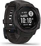 Garmin Instinct GPS Smartwatch w/ HRM + 3-Axis Compass $200 (Was $300)