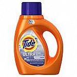 37.0oz Tide Ultra Stain Release High Efficiency Liquid Detergent Original $3 and more