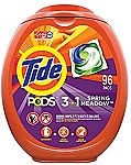 $10 Off $40 Select Household Items: 192 Count Tide PODS Laundry Detergent Liquid Pacs $30.74 and more