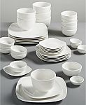 42-Piece Gibson White Elements Dinnerware Set (Service for 6)) $39.99 (Org. $120) + Free Shipping
