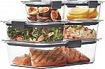 10-Piece Rubbermaid Brilliance Food Storage Container Set $13.76