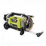 RYOBI 1,800 psi 1.2 GPM Wheeled Electric Pressure Washer 109