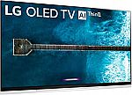 "55"" LG E9 Series OLED 4K UltraHD Smart TV OLED55E9PUA $1299, 65"" version $1899"