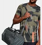 UA Undeniable Duffel 4.0 Small Duffle Bag (Pitch Gray) $22