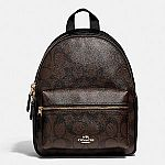 Coach Outlet - Extra 15% Off: Mini Charlie Backpack $84.15 (Org $328)