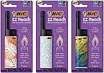 3-Pack BIC EZ Reach Lighter $5.49