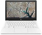 "HP Chromebook 11"" Laptop (MediaTek MT8183, 4GB, 32GB 11a-na0050nr, Snow White) $239.99"