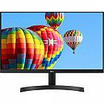 "24"" LG 24ML600M-B FHD IPS LED 1920x1080 FreeSync 3-Side Borderless Monitor $99"