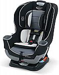 Graco Extend2Fit Convertible Car Seat $119, Grows4Me 4 in 1 Car Seat $112