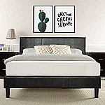 Zinus Jade Faux Leather Upholstered Platform Bed $119.59 (60% Off) & More