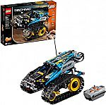 LEGO Technic Remote Controlled Stunt Racer 42095 Building Kit (324 Pieces) $81