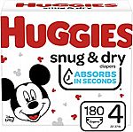 Buy 2 Get Extra $15 Off Select Huggies Diapers