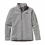 Patagonia Women's Patagonia Better Sweater 1/4-Zip Fleece $49.50 (50% Off) and more
