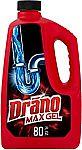Drano Max Gel Drain Cleaner (80oz) $6.43