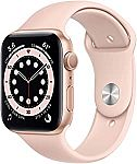 Apple Watch Series 6 44mm GPS (Pink, Red or Black) $399 and more