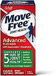 120-Count Move Free Plus MSM Advanced Joint Health Supplement Tablets (Green Label) $12.82