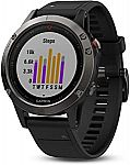 Garmin fēnix 5 Multisport GPS Smartwatch $249.99 (50% Off) & More