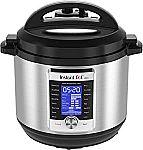 Instant Pot Ultra 10-in-1 8qt Electric Pressure Cooker $110, 6-qt $100