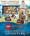LEGO Harry Potter Build Your Own Adventure Hardcover w/ Minifigure and Exclusive Model $15