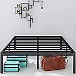 Zinus Van 16 Inch Metal Platform Bed Frame $51 (60% Off)& More Zinus One Day Deal