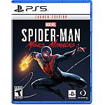 Spider-Man: Miles Morales Launch Edition Pre-Purchase (PS5) $21.85