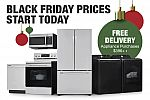 Home Depot - Black Friday Appliance Deal: up to 40% off + Up to $700 with Buy More Save More