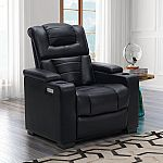 Abbyson Living Lexington Power Theater Recliner (Assorted Colors) $399 (orig. $699)