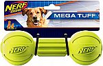 Nerf Dog Barbell Chew Toy $2.96 & More