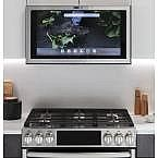 GE Profile Kitchen Hub 30 in. Smart 600 CFM Range Hood $398