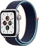 Apple Watch SE (GPS + Cellular 40mm) $279.99