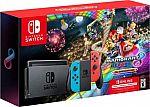 (Starts 11/22) Nintendo Switch (Neon) Console + Mario Kart 8 Deluxe (Download) + 3-Month Nintendo Online $299.99 + $90 Kohls Cash