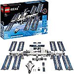 LEGO Ideas International Space Station 21321 (864-pc) $60 & More