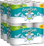 48-count Angel Soft Toilet Paper $23