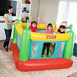 Fisher-Price Bounce House w/ Built-in Pump + 100 Play Balls $66