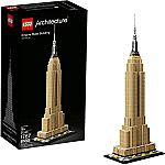 LEGO Architecture Empire State Building 21046 New York City Skyline (1767-Piece) $87