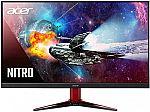 "Acer Nitro XZ270U Pbmiiphx 27"" 1500R Curved WQHD Monitor $270 and more"