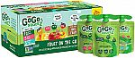20-Pouches GoGo squeeZ Applesauce, Variety Pack (3.2Oz) $9.48 and more