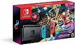 Nintendo Switch Console Bundle with Mario Kart 8 Deluxe $299.99