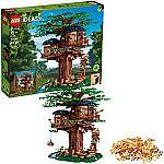 LEGO Ideas 21318 Tree House Building Kit (3,036 Pieces) $169