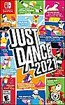 Just Dance 2021 (XBox, Nintendo Switch, Playstation) $24.99