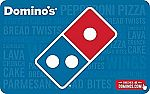 Dominos Pizza e-Gift Card  $42.50 and more