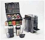Nespresso Vertuo Espresso & Coffee Maker W/ 62 Capsules & Milk Frother $145