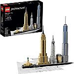 LEGO Architecture New York City 21028 Model Kit $48