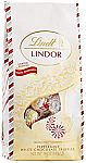 19oz Lindt Holiday Peppermint White Chocolate Truffles $8